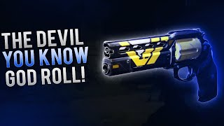 Destiny - The Devil You Know. MY GOD ROLL! Double Drops & Best Perks for Legendary Hand Cannons.