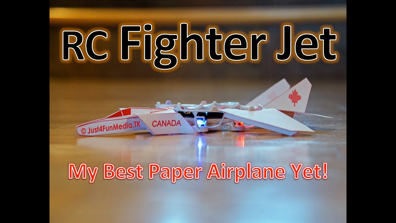 6b31dc9a RC Paper Fighter Jet: 5 Steps (with Pictures)