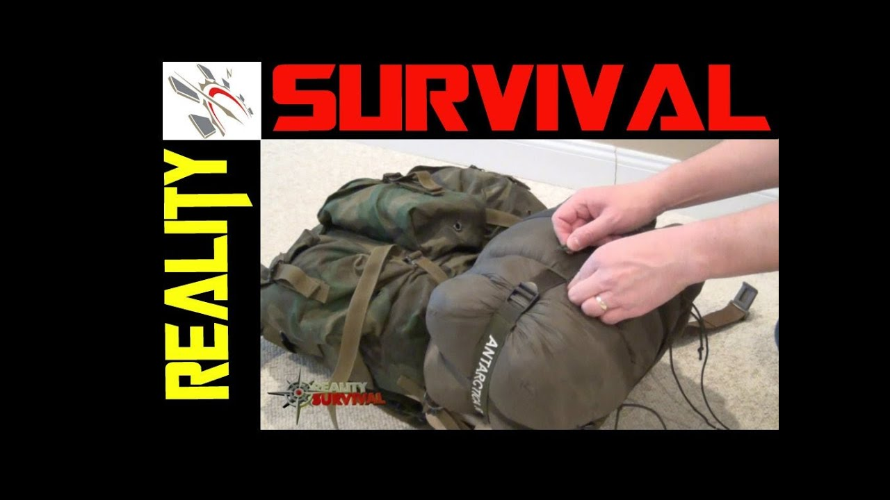 Survival Gear Tips: How To Tie A Sleeping Bag To An ALI ...