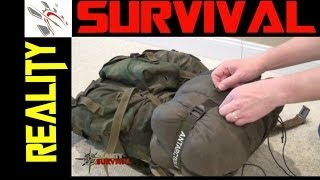 Video Survival Gear Tips: How To Tie A Sleeping Bag To An ALICE Pack download MP3, MP4, WEBM, AVI, FLV April 2018