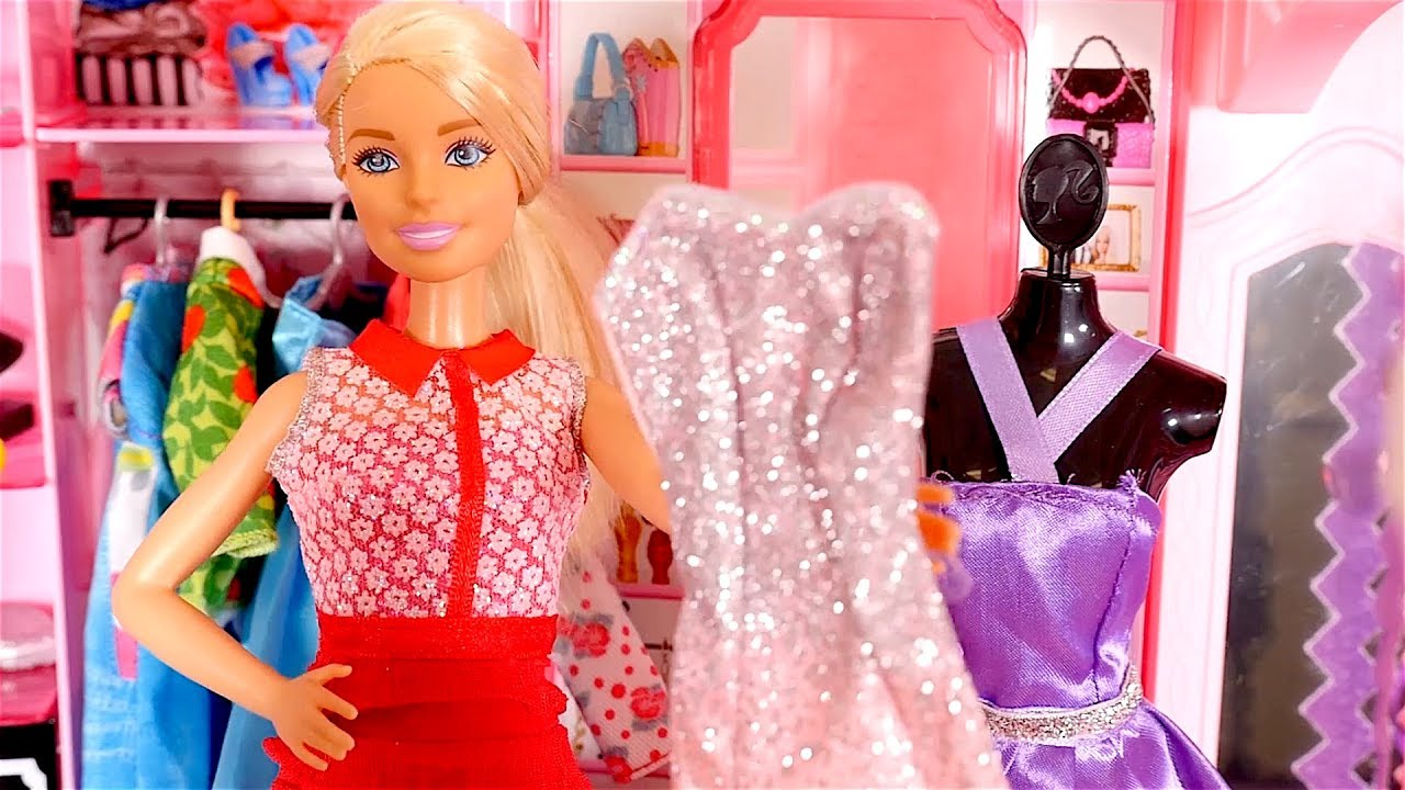 Barbie Toys For Girls : Barbie games videos dress up