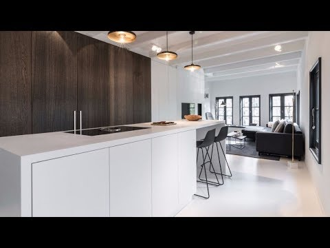Amazing Minimalist Apartment Design In Historic Amsterdam Building - Pictures