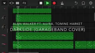 آلان ووكر مربعة. Au/Ra, Tomine Harket - Darkside (كاراج غطاء)