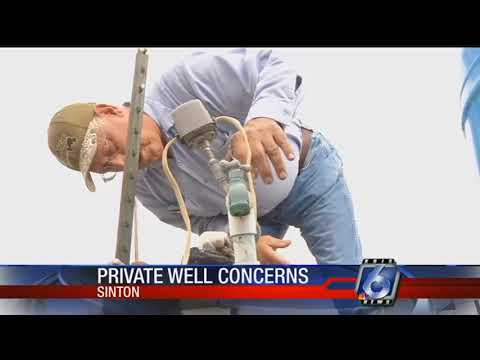 Texas A&M AgriLife Extension Service free private well testing