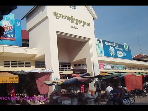 Our trip from Kratie province to Kampong Cham province in Cambodia