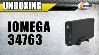 Newegg TV: iomega 34763 1TB Home Media Network Hard Drive, Cloud Edition Unboxing