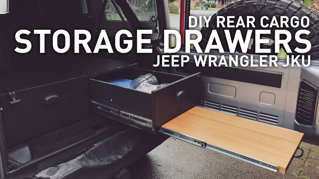 Diy Drawer System For Jeep Wrangler Camping Overlanding