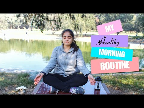 My Morning Routine Fitness 2018 | Indian Girl | Workout and healthy breakfast for Beginners