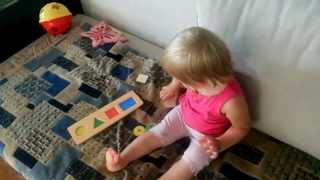 видео Деревянный лабиринт и раннее развитие ребенка