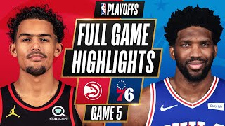 #1 76ERS at #5 HAWKS | FULL GAME HIGHLIGHTS | June 14, 2021