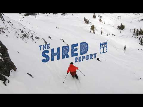 The Shred Report - Jan. 08 | Headwall Zone, Squaw Valley