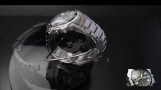 Vintage LORUS (by Seiko) 7T62-X105 SS Chronograph & Alarm Mens Watch