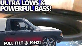 Ultra LOWS & Powerful BASS! Hard Hitting Toyota Truck 3 18