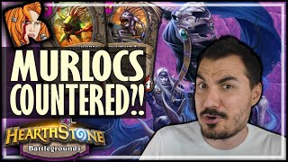 YOUR DIVINE MURLOCS DON'T SCARE ME! - Hearthstone Battlegrounds