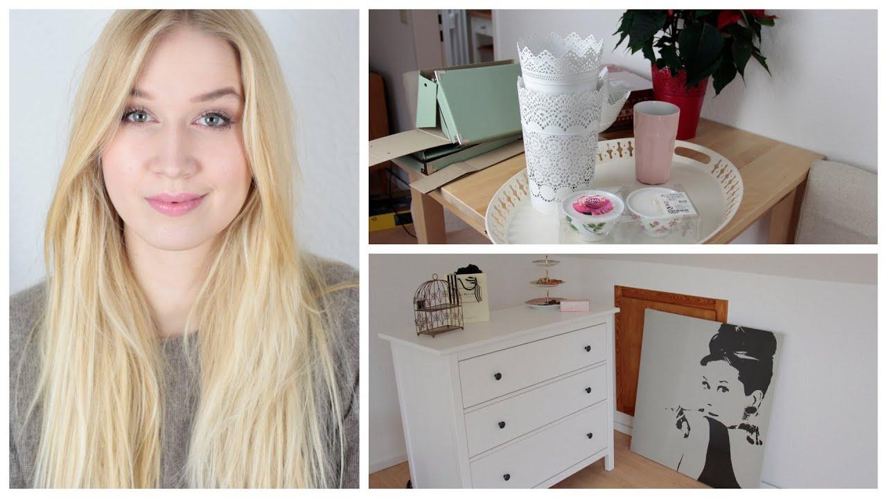 Ikea deko und m bel einkauf mini roomtour youtube - Schminktisch dekorieren ...