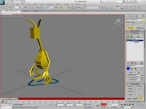 inspirational flex muscles rigging in 3ds max tutorial 3ds max catによる揺れ骨設定 フレックス doovi 265