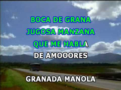 Placido Domingo - Granada (Karaoke Pro).wmv