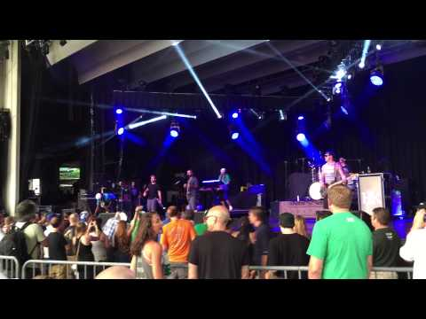 Rebelution live at Meadow Brook Music Festival, Rochester Hills, MI