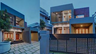 Stylish 4BHK contemporary house.