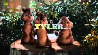 Happy birthday, Tyler! Alvin and Chipmunks sing a song for you!