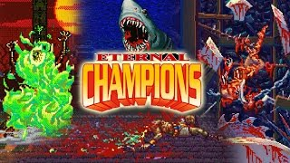 ETERNAL CHAMPIONS: Horrific Violence & Humor Reaction Compilation (SEGA C-D)