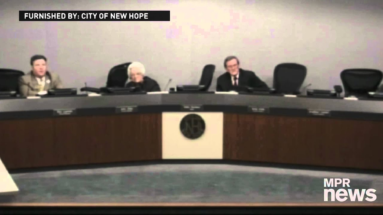 Shooting at the New Hope City Council meeting - YouTube