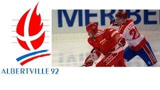 1992 Winter Olympics - Ice Hockey Final - Canada v Unified Team
