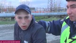 ДПС жесть поймали под спайсом вызвали психушку, Нижневартовск