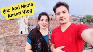 My First Vlog  Ijaz Ansari And Maria Ansari  Need Your Help  Please Guide Us