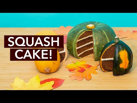 Squash or CAKE? Can you Tell? | How To Cake It with Yolanda Gampp
