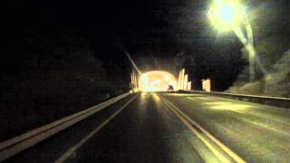 Mountain Tunnel on U.S. Route 60 West to Superior, Arizona, 19 June 2015, GP010179