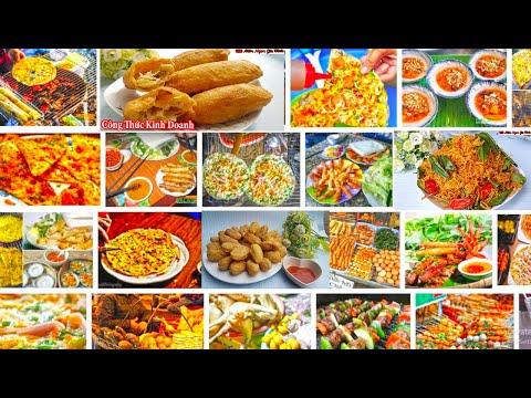 ✅Công Thức Kinh Doanh Các Món Ăn Vặt Ngon Dễ Làm Vạn Người Mê | Món Ngon Gia Đình