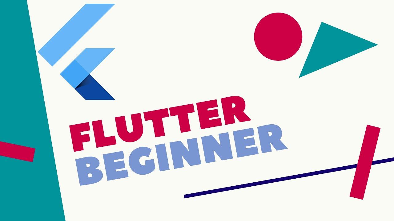 Flutter Tutorial For Beginners - Creating first app