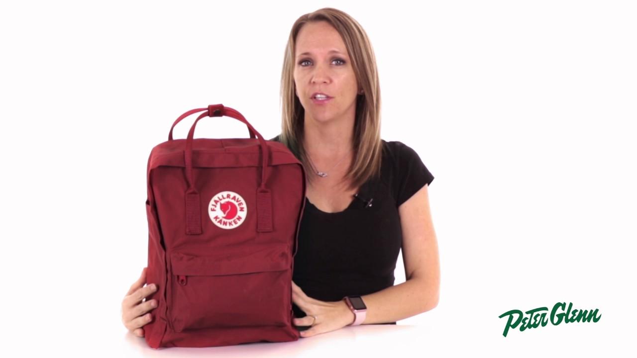 3fd8424e82f 2017 Fjallraven Kanken Backpack Review by Peter Glenn - YouTube