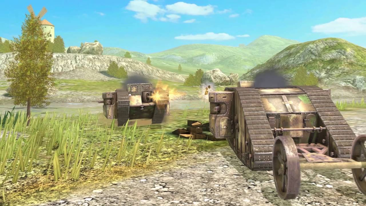 World of tanks blitz 100 years of tanks mark 1 event trailer world of tanks blitz 100 years of tanks mark 1 event trailer youtube sciox Image collections