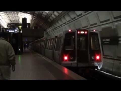 ᴴᴰ Washington Metro: Red Line Action at Union Station