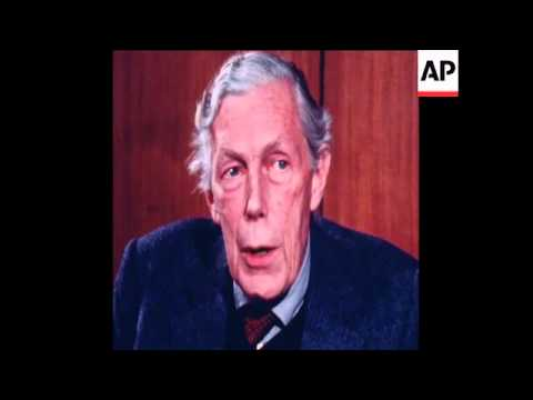 SYND 21 11 79 FORMER RUSSIAN SPY ANTHONY BLUNT INTERVIEW