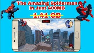 The Amazing Spiderman For Android In [400MB]