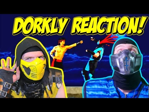 Scorpion & Sub-Zero REACT - MORE DORKLY MORTAL KOMBAT SKITS | MKX Animation Parody! thumbnail