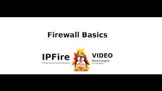 IPFire Firewall Basics