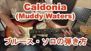 ギター初心者講座!Caldonia(Muddy Waters)/イントロのブルース・ソロの弾き方