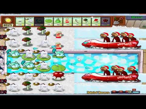 Plantas vs zombies navidad Travel Video