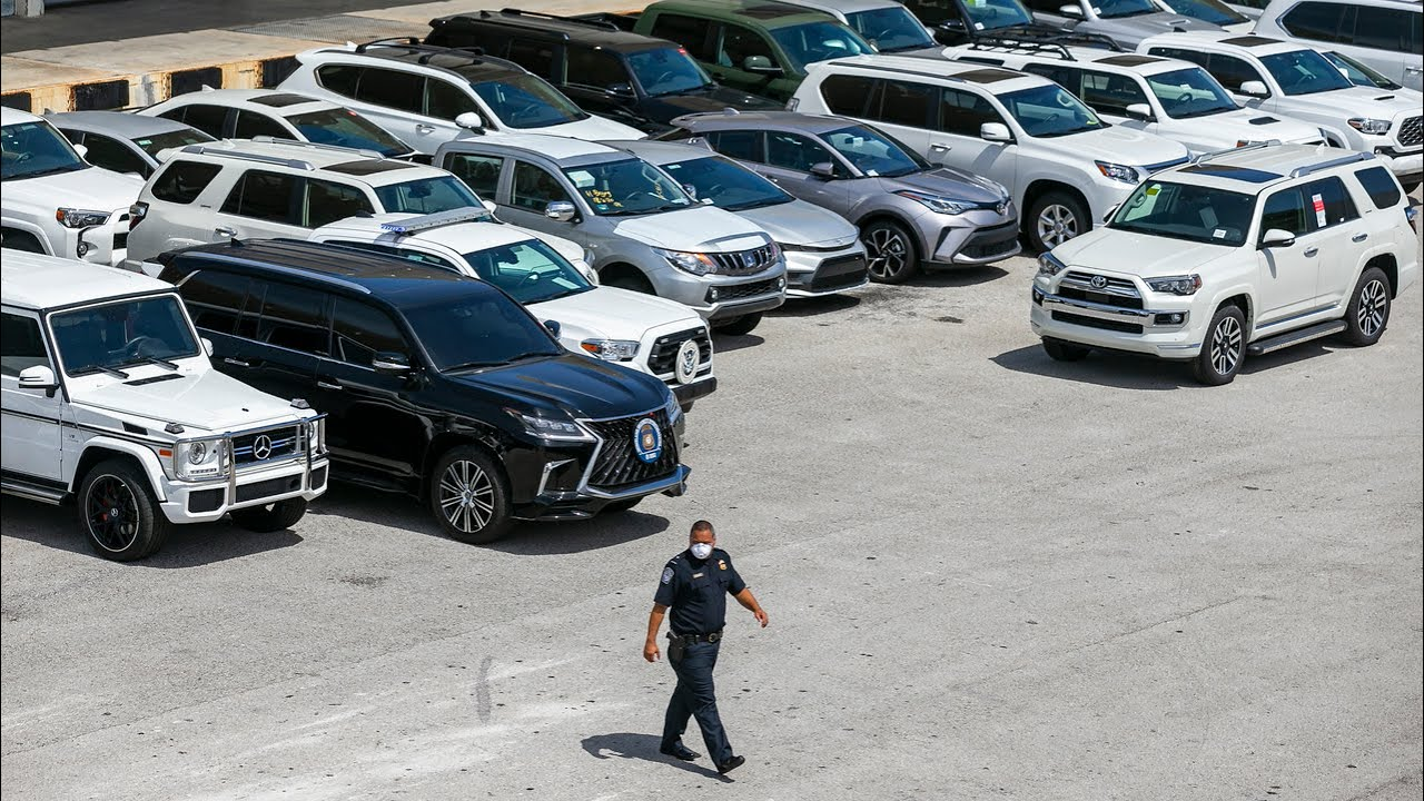 More than 80 luxury cars bound for Venezuela are seized by Miami feds