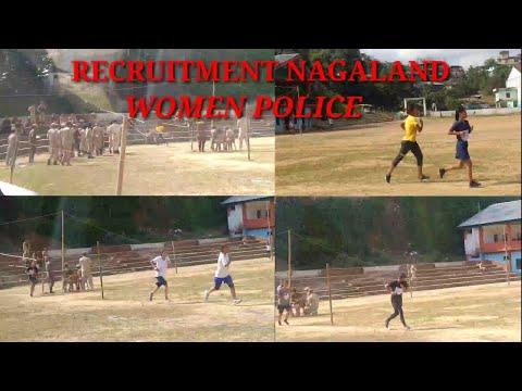 RECRUITMENT NAGALAND WOMEN POLICE 2019|BOMWANG VLOGS| MON TOWN; NAGALAND