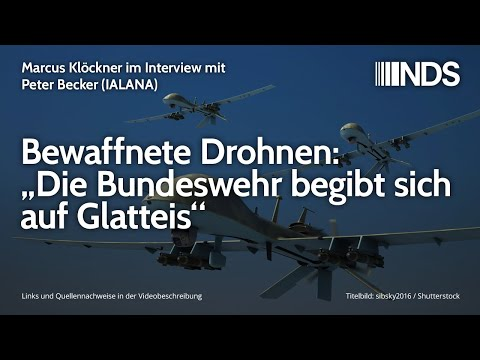 Bewaffnete Drohnen: Die Bundeswehr begibt sich auf Glatteis | M. Klöckner Interview mit Peter Becker