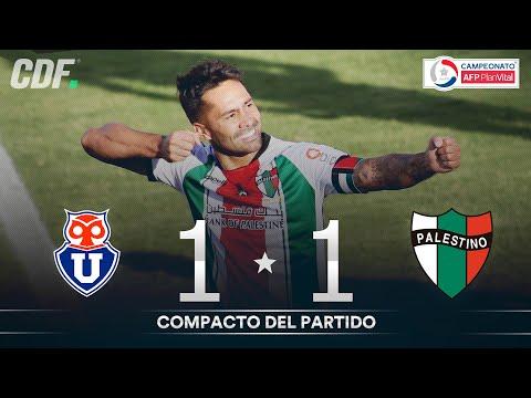 Universidad de Chile 1 - 1 Palestino | Campeonato PlanVital 2020 - FECHA 30