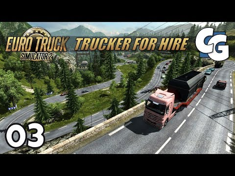 [ETS2] Trucker for Hire - Ep. 3 - The Beautiful Curves of Andorra - ETS2 ProMods 2.16 Let's Play