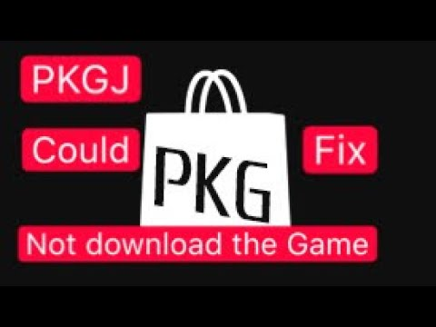Download a Game in Pkgj is Could not Download