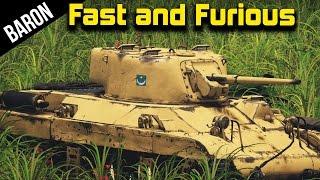 War Thunder Fast and Furious - M22 Locust Ninja Tank