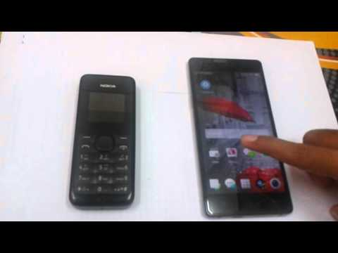 comparison two phone